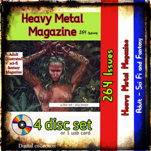 Heavy Metal  Magazine dark fantasy/sci fI, erotica and steampunk comics