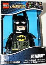 Lego Dc Comics Batman The Dark Knight Alarm Clock Figure New Box Nos 2015