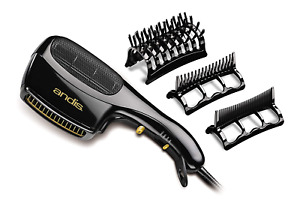 Blow Dryer Brush Hair Comb 3 Attachment Ion Long Ceramic Thick Style Styler Fine