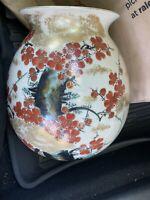 Kutani Japanese Porcelain Vase- 1900-1930s