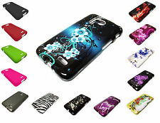 Hard Snap on Faceplate Phone Cover Case For LG Optimus L70 Accessory