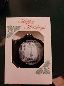 TSO TRANS-SIBERIAN ORCHESTRA ORNAMENT LOST CHRISTMAS EVE NIB BLACK WHITE