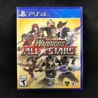 Warriors All-Stars (Sony PlayStation 4, 2017) BRAND NEW / Region Free
