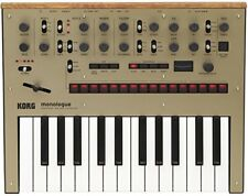 KORG Monologue GD Gold Monophonic Analogue Synthesizer 100% Genuine F/S