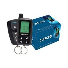 CLIFFORD 5305X LCD 2-WAY CAR ALARM SECURITY REMOTE START KEYLESS ENTRY SYSTEM