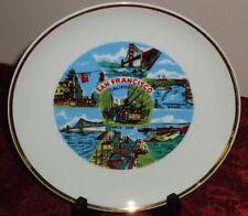 """San Francisco California 8.25"""" souvenir state collector's plate"""