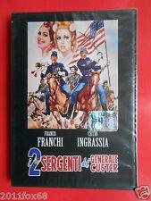 dvd i 2 sergenti del generale custer franco franchi ciccio ingrassia moira orfei