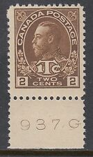 Lightly Hinged Canadian Stamps