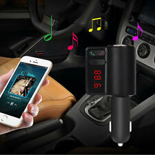 Wireless Bluetooth Car Kit FM Transmitter LCD MP3 Player 2 USB Charger For cell