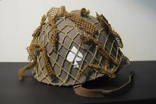 WW2 US 101st Helmet with Scrim & Net (Band of Brothers/Saving Private Ryan).