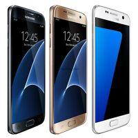 Samsung Galaxy S7 S6 S5 Black White Gold 16/32GB Factory Unlocked LTE Smartphone