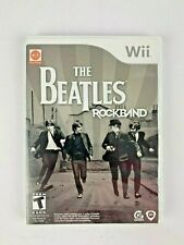 The Beatles ROCKBAND Wii Video Game COMPLETE TESTED WORKS