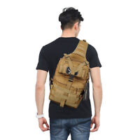 Military Tactical Hiking Backpack Army Molle Waterproof Bag Pack Sling Rucksack