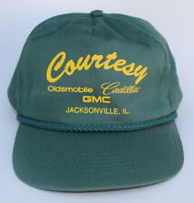 Courtesy Oldsmobile Cadillac GMC JACKSONVILLE IL Snapback OSFA Baseball Cap Hat