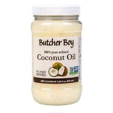 Butcher Boy Coconut Oil 100% Pure Refined Non-GMO Non-Hydrogenated 7.25 oz