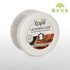 Lederbalsam Lederpflege Royal® Lederfett mit Bienenwachs und Jojobaöl 250 ml