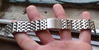 Armband Stahl Plongee Unterwasser 20 mm für Armbanduhren Diver und Chrono Vintag
