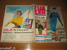 EVA=1959/35=RIVISTA MAGAZINE MODA DONNA WOMAN CUCINA ARREDAMENTO=