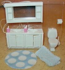 Badezimmer WC f. Puppenhaus Lundby Schweden