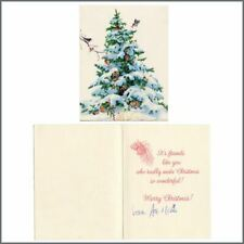 KISS Ace Frehley 1988 Signed Christmas Card To Lydia Criss (USA)