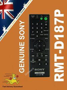 RMT-D187P RMTD187P GENUINE SONY REMOTE DVP-SR100 DVP-SR700H DVP-SR700HP DVP-SR90