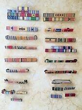 (58) Original Ww2 U.S. Armed Forces Ribbons With A Few From Other Conflicts