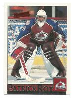 1995-96 Bowman #15 Patrick Roy Colorado Avalanche