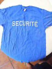 Michael Jackson Securité (France concert security) BAD TOUR XL Vintage RARE T7