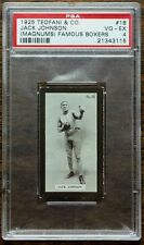 JACK JOHNSON 1925 TEOFANI & CO PSA 4  MAGNUMS FAMOUS BOXERS   NO QUALIFIERS