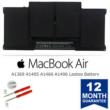 New A1405 Battery for Apple MacBook Air 13'' A1369 Mid 2011 & A1466 2012 A1496