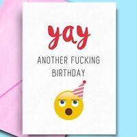 Birthday Cards For Aunt Bestfriend Girldfriend Son Fun Rude Adult Cheeky