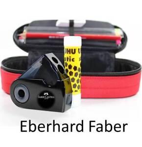 FAULENZER rot EBERHARD FABER Mappe Federtasche Mäppchen Federmappe ü5ü104