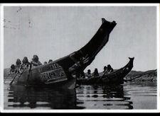 NORD-OUEST CANADIEN (CANADA) TENAKTAK CANOE / INDIEN en 1914