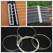 6Pcs Nylon Silver Strings Gauge Set Classical Classic Guitar Acoustic Wound 1m