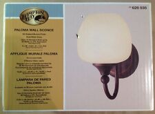 Hampton Bay - 1 Paloma Wall Sconce | #628 035 | Discontinued by Manufacturer