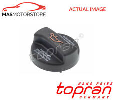 ENGINE OIL FILLER CAP TOPRAN 108 232 P NEW OE REPLACEMENT