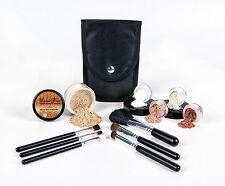 Ultimate finishing Powder Mineral Makeup Starter Kit Brush Set Foundation Bisque