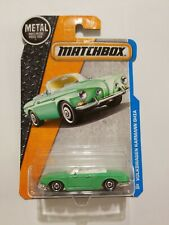 New Matchbox Car Convertible Volkswagen Karmann Ghia 29/125 Green Diecast MINT