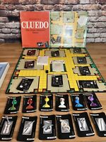 Vintage 1965 Waddingtons Cluedo Classic Board Game Detective Missing Leadpipe