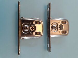 Pair of DTC, Slyder Drawer single metal wall fixing Brackets.