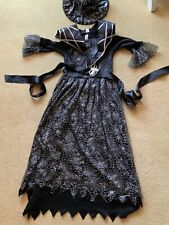 Halloween Witch Fancy Dress Up Costume Age 11-12 Years