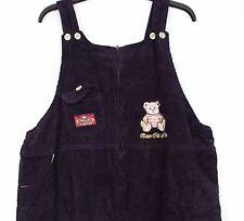 Las señoras de gran tamaño púrpura Pana Festival 3/4 longitud Peto Mono Mono Corto