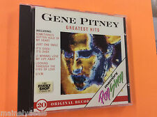 Gene Pitney Greatest Hits RARE (CD, 1989, Memory Pop Shop) Tested! Works!