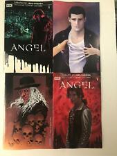 4x ANGEL # 1 Comic BOOM ~  Rare VARIANT Cover Lot ~ Whedon ~  BTVS ~ NM/UNREAD