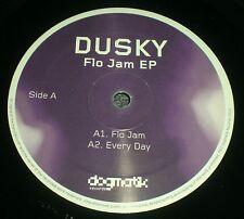 "Flo Jam EP Dusky~RARE 2012 UK Import Deep House Techno 12""~VG++ Vinyl~FAST SHIP!"
