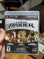 Tomb Raider: Trilogy Ps3 PlayStation 3 Pre Owned w/ Case Tested Working