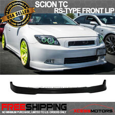 Fit 05-10 Scion tC RS-Style Front Bumper Lip Spoiler (Polyurethane)