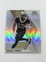 2020 Panini Mosaic Michael Thomas Silver Prizm #143 New Orleans Saints