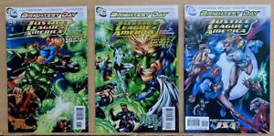 Lot of 3 Justice League of America #45, #47 & #48 - 2010 DC - Near Mint (9.2)