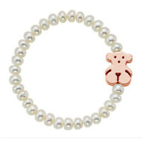 Luxury Jewelry Teddy Bear Natural Pearl 14K Bracelet Jewelry Gift for Woman